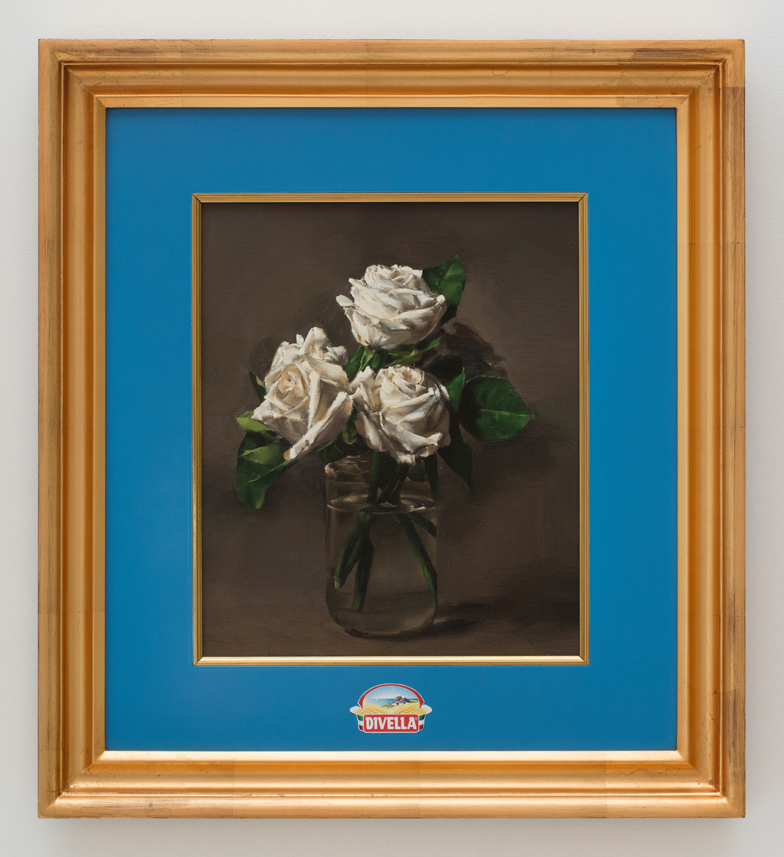 Roses in a Divella jar, 2018, Oil on linen in artist's frame, 60.9 x 55.2 cm 이미지 제공: 갤러리현대 Courtesy of the artist and Gallery Hyundai.